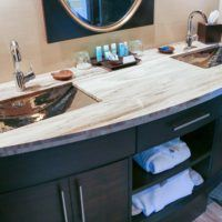 commercial bathroom countertops
